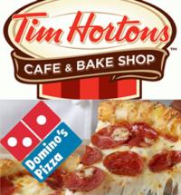 tims and dominos